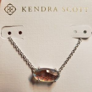 NWOT Kendra Scott Dichroic Ever Necklace